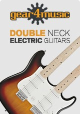Double neck electric guitars