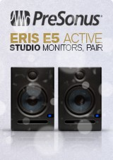 PreSonus Eris E5 Active Studio Monitors, paar