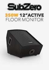 SubZero 350w 12' Active Floor Monitor