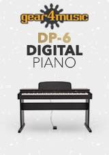 gear4music logo DP-6 Digital Piano
