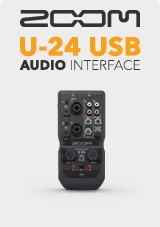 Zoom U-24 USB Audio-Interface