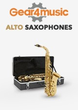 Gear4music Student Altsaxofoons