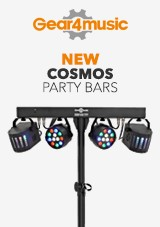 gear4music NEW Cosmos Party Bars